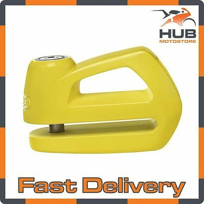Abus Element 290 Motorcycle Motorbike Scooter Security Disc Lock - Yellow