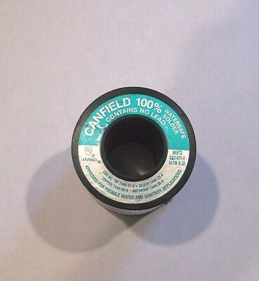 1 - Canfield 100% Watersafe Lead Free Solder