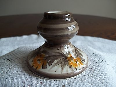 Jersey Pottery, Channel Islands - Candlestick