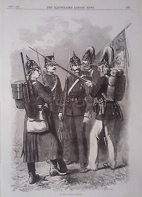 1870 Print The War: Prussian Infantry