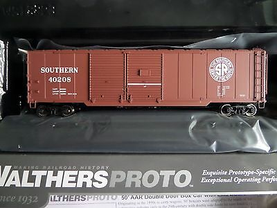 Walthers Proto HO Scale Southern Railroad 50' ARR Double Door Box Car