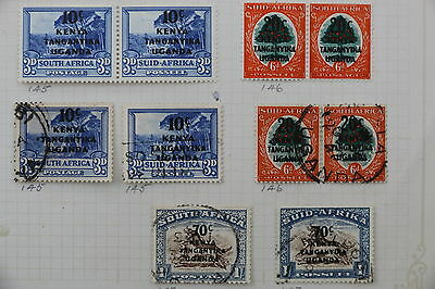 KUT mint and used stamps    lot k1041