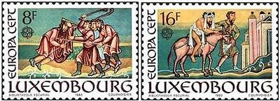 # LUSSEMBURGO LUXEMBOURG - 1983 - CEPT EUROPA - 2 Stamps Set MNH