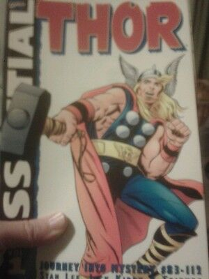 Essential Thor Volume 1 Marvel Comics, out of print
