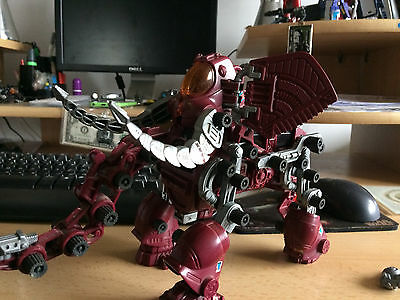 Vintage 80's mammoth the destroyer red zoids 90% complete
