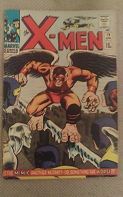 X-MEN #19 Pence Is the mimic a mutant? Or something far worse??  LEE/KIRBY X-MEN