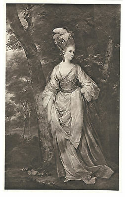 Elizabeth Carnac (nee Rivett) Sepia Lithograph after Sir Joshua Reynolds 1901
