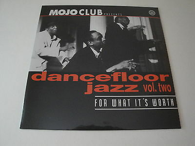 Various Artists: Mojo Club Dancefloor Jazz Vol. 2 For What It's Worth Vinyl LP