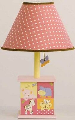 CoCaLo Baby Tropical Punch Lamp Base and Shade NEW
