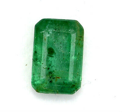 Certified Natural Emerald Octagon Cut 7*4.50 mm 1.05 Cts Brazil Loose Gemstones