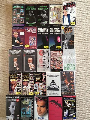 Job Lot Of Magic, mentalism And Related VHS Videos