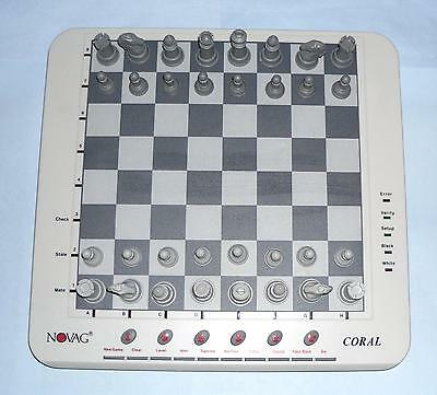 ideal gift Coral electronic Chess Computer by Novag