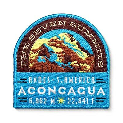 Aconcagua Seven Summits Embroidered Mountain Patch