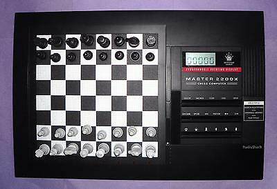 ideal gift master 2200X electronic chess computer by radioshack