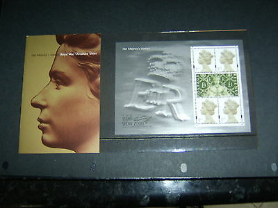 Royal Mail Stamp Show 2000 Presentation Pack Min Sheet.