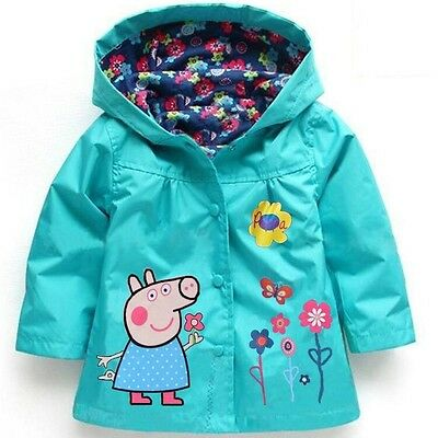 PEPPA PIG - Chaqueta impermeable Peppa Pig - 5 colores (2-5 años)