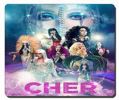 """Cher """"Dressed To Kill"""" Tour Mousepad New Design!"""
