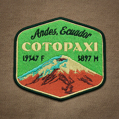 Cotopaxi Embroidered Mountain Patch