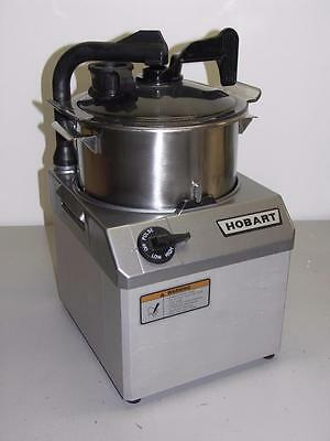 Hobart HCM62-1 Food Processor, 6 Qt, 2 Speed, 2HP, 208-240V 3PH,  20 8 Volt Plug