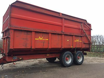 AW 12 Ton Silage / Grain / Root Trailer