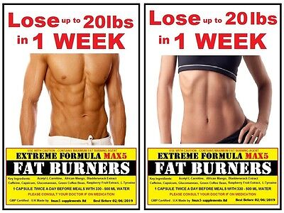 Strong Slimming Diet Pills Fat Burner Fast weight loss 10-20 lbs Lost in 5 Days