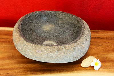 River stone Wash basin Natural polished Washbowl Foundling Counter NEW