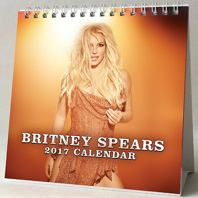Britney Spears Desktop Calendar 2017 Make Me Jean Womanizer Piece Of Me