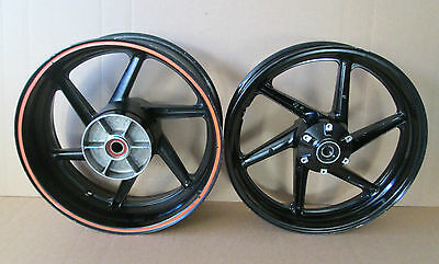 Honda VTR1000 SP1 Complete front and rear wheel