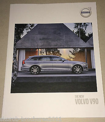 VOLVO - The New V90 Sales Brochure 2017
