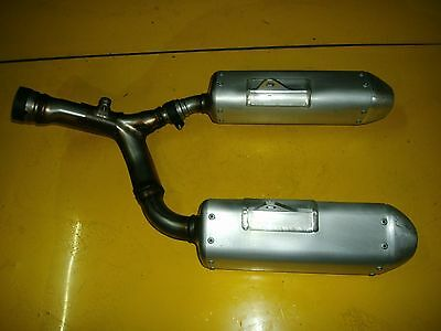 Honda Crf 450 Rear Exhaust Section 2013 To 2014 New Genuine