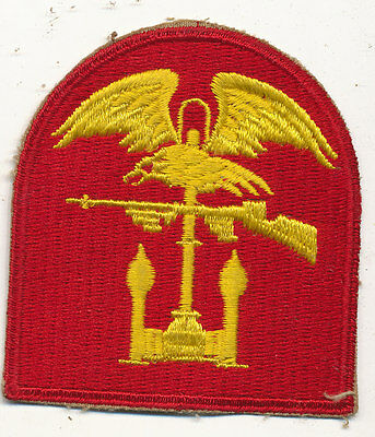 US Navy Amphibious Forces patch real WWII make USN