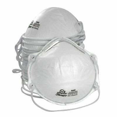 AMSTON N95 Dust Masks Box of 20 Personal Protective Equipment / PPE Particulate