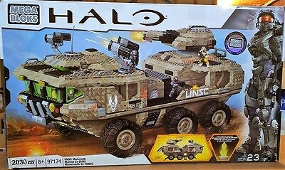 Mega Bloks Halo 97174 - UNSC MAMMOTH - New In Box