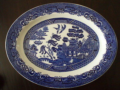 Oval Willow Plate