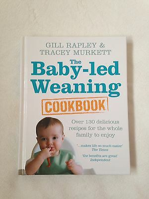 Baby-led Weaning  Cook Book Gill Rapley  Brand New.