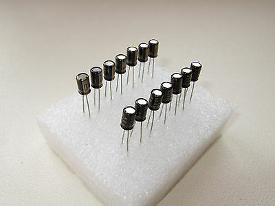 Rubycon BLACK GATE PK capacitors for TDA1541A DEM decoupling (14 pcs set)