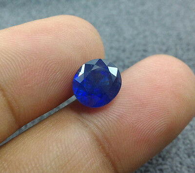 4.50 Ct Top Blue Sapphire 100% Natural Loose Oval Shape Gemstone Sapphire