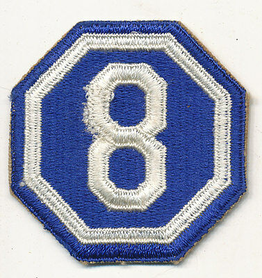 8th Corps VIII Corps patch real WWII make US Army