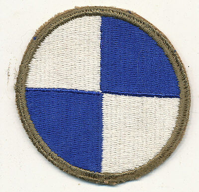 4th Corps IV Corps patch real WWII make US Army