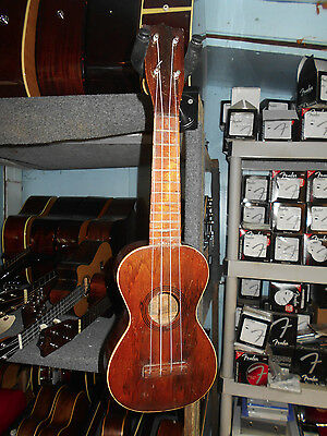 B and J The Mele Soprano Ukelele Uke Mid '20s Attributed to Regal