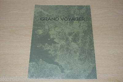CHRYSLER - The Grand Voyager Sales Brochure 2013..