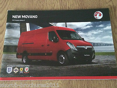 VAUXHALL - The New Movano Sales Brochure 2011 Edition 2