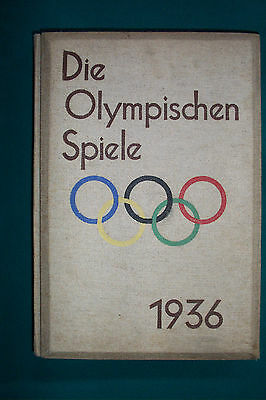 Ultra Rare 1936 Olympic Games In 100 Stereoview Book Die Olympischen Spiele