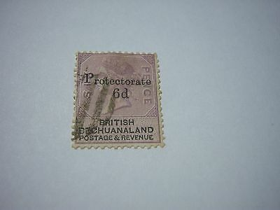 BECHUANALND PROT.-USED-SCOTT #65-1888-6p/6p lilac-wtm29-cv$50-