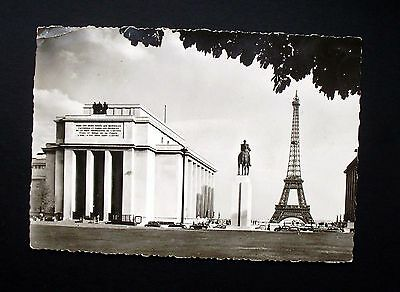 A French postcard of the Eiffel Tower