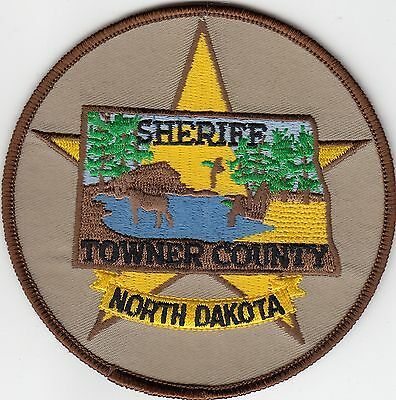 Towner County Sheriff North Dakota Nd Police Patch