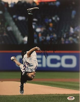 Laurie Hernandez Signed Autographed 11x14 Photo Olympic Dancing Mets
