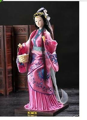 Oriental Broider Doll,Chinese old style figurine China dollink