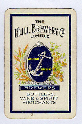 Single Brewery Playing Card - The Hull Brewery