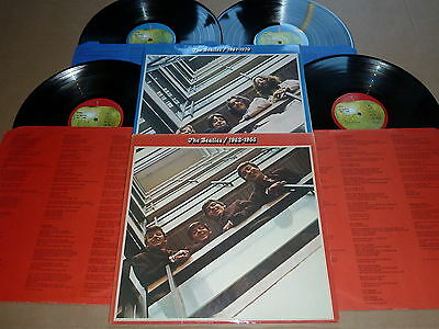 The Beatles 1962-1966 & 1967-1970 Rare Red & Blue Apple Lps